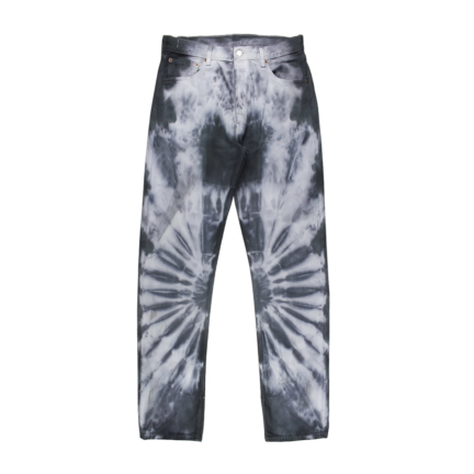 tie dye denim pants