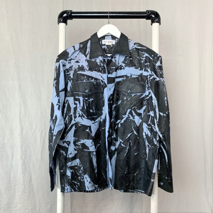 screen printed army shirt
