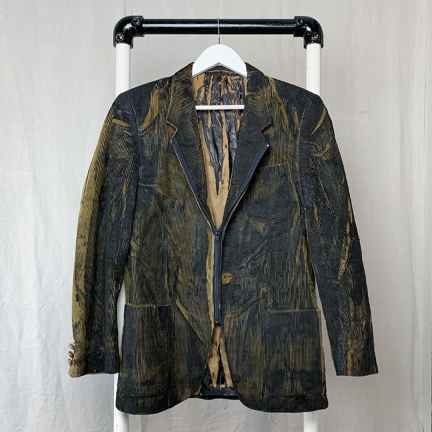 screen printed jacket