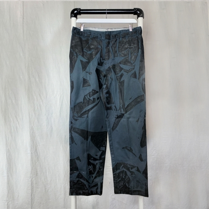 screen printed pants
